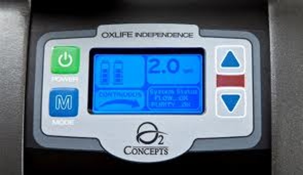 Oxlife Independence Easy to Use Control Panel
