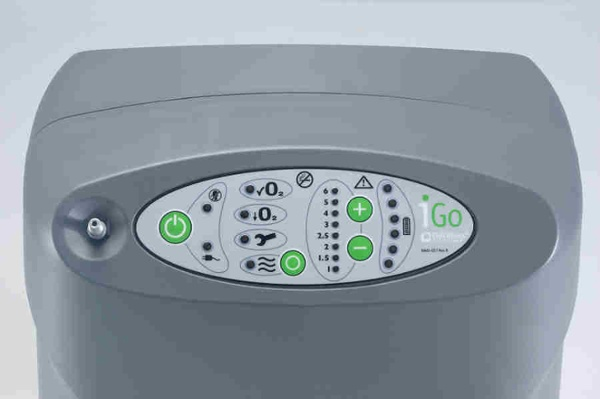 DeVilbiss iGo Control Panel