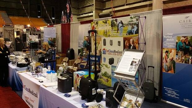 Oxygen Concentrator Depot RV Show Booth