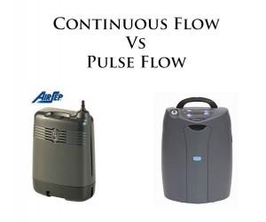 Continuous Flow vs Pulse Flow Portable Oxygen Concentrators