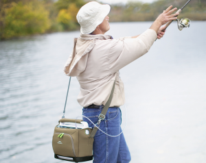 Fishing With a Portable Oxygen Concentrator