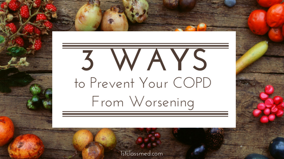 3 Ways to prevent your copd from worsening