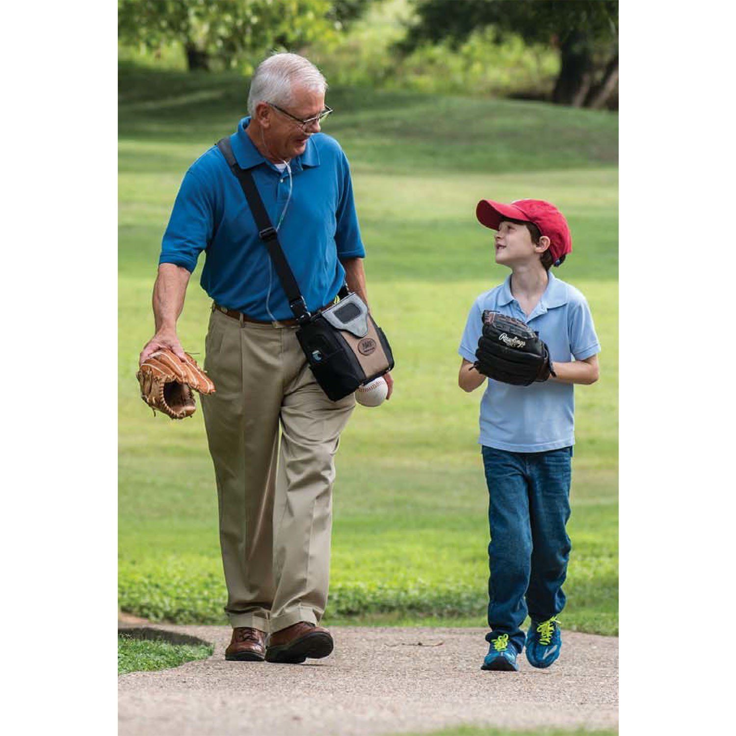 LifeChoice Activox Sport with Grandson