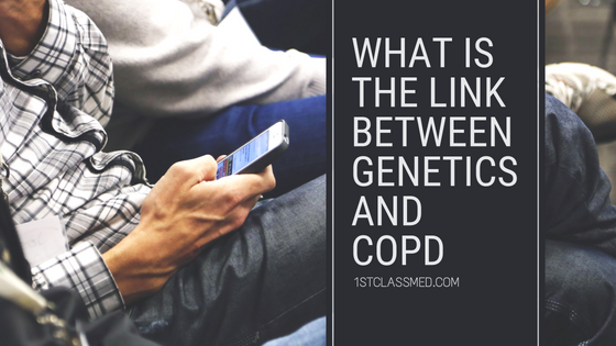 what is the link between genetics and copd
