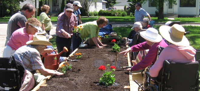 Gardening to Become More Active