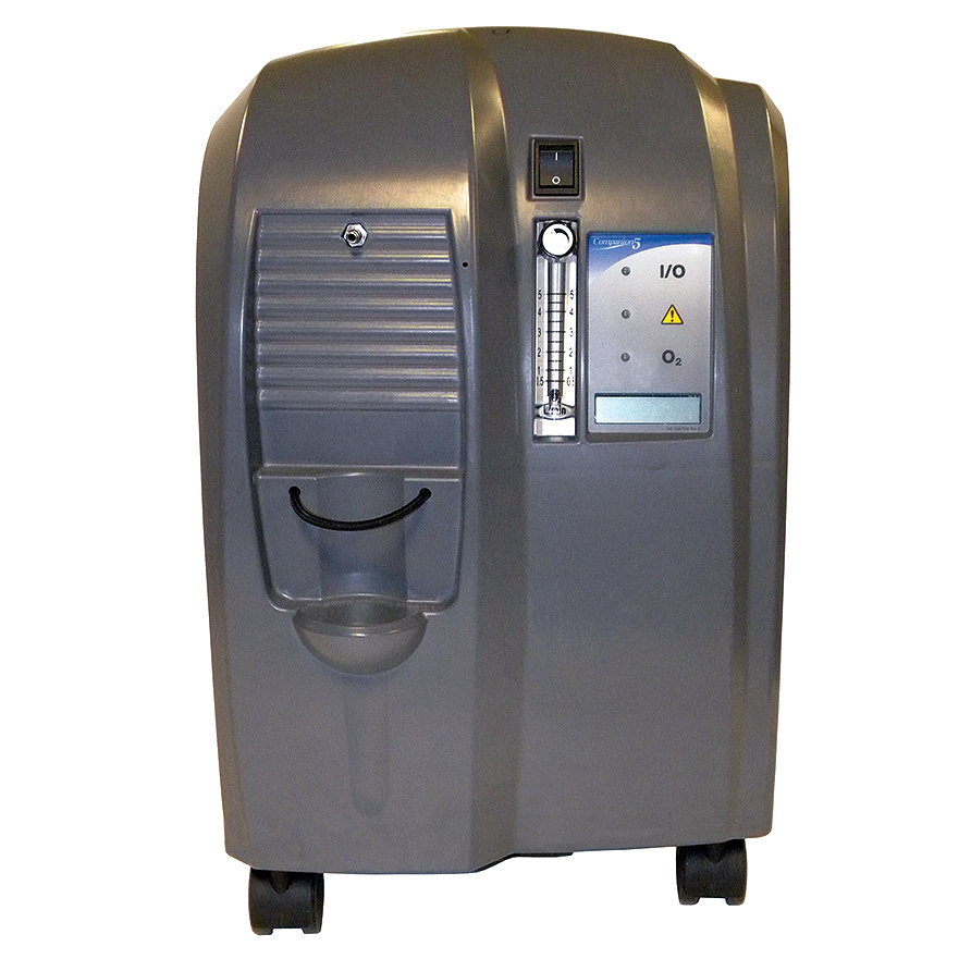 Caire-Companion-5-Home-Oxygen-Concentrator-Use