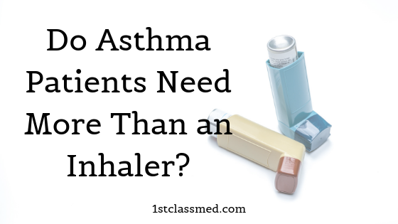 Do Asthma Patients Need More Than an Inhaler