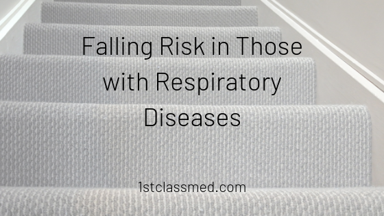 Falling Risk in Those with Respiratory Diseases