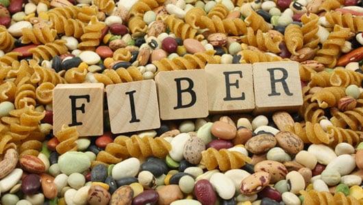 Fiber for COPD