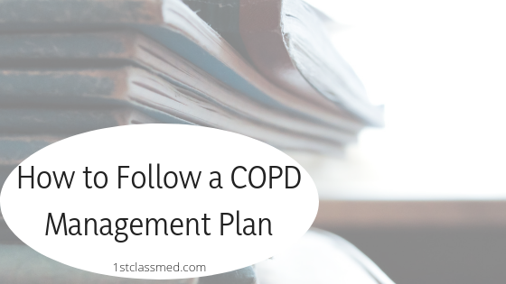 How to Follow a COPD Management Plan