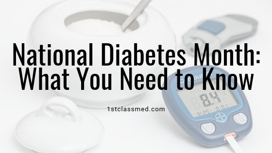 National Diabetes Month: What You Need to Know