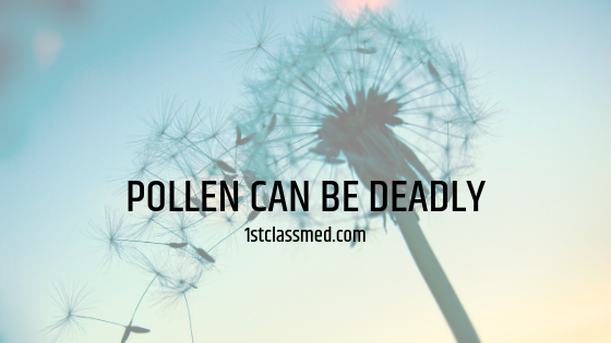 Pollen Can be Deadly