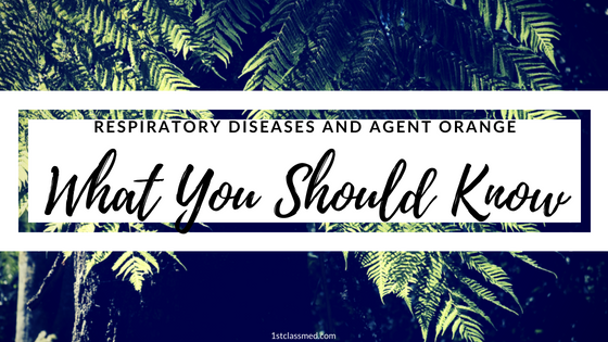 Respiratory Diseases and Agent Orange: What You Should Know