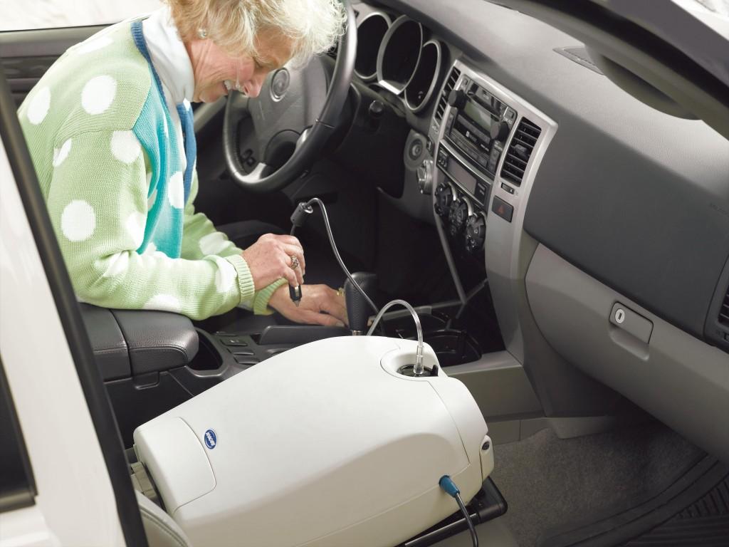 Invacare SOLO2 in Car