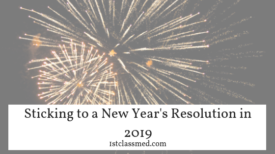 Sticking to a New Year's Resolution in 2019