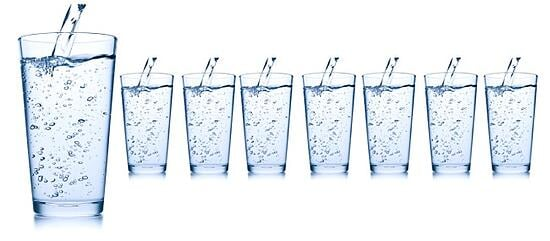 Water for COPD