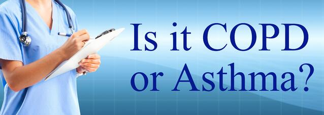 Is it COPD or Asthma?