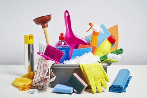 natural/homemade cleaning products can make cleaning easier on copd patients