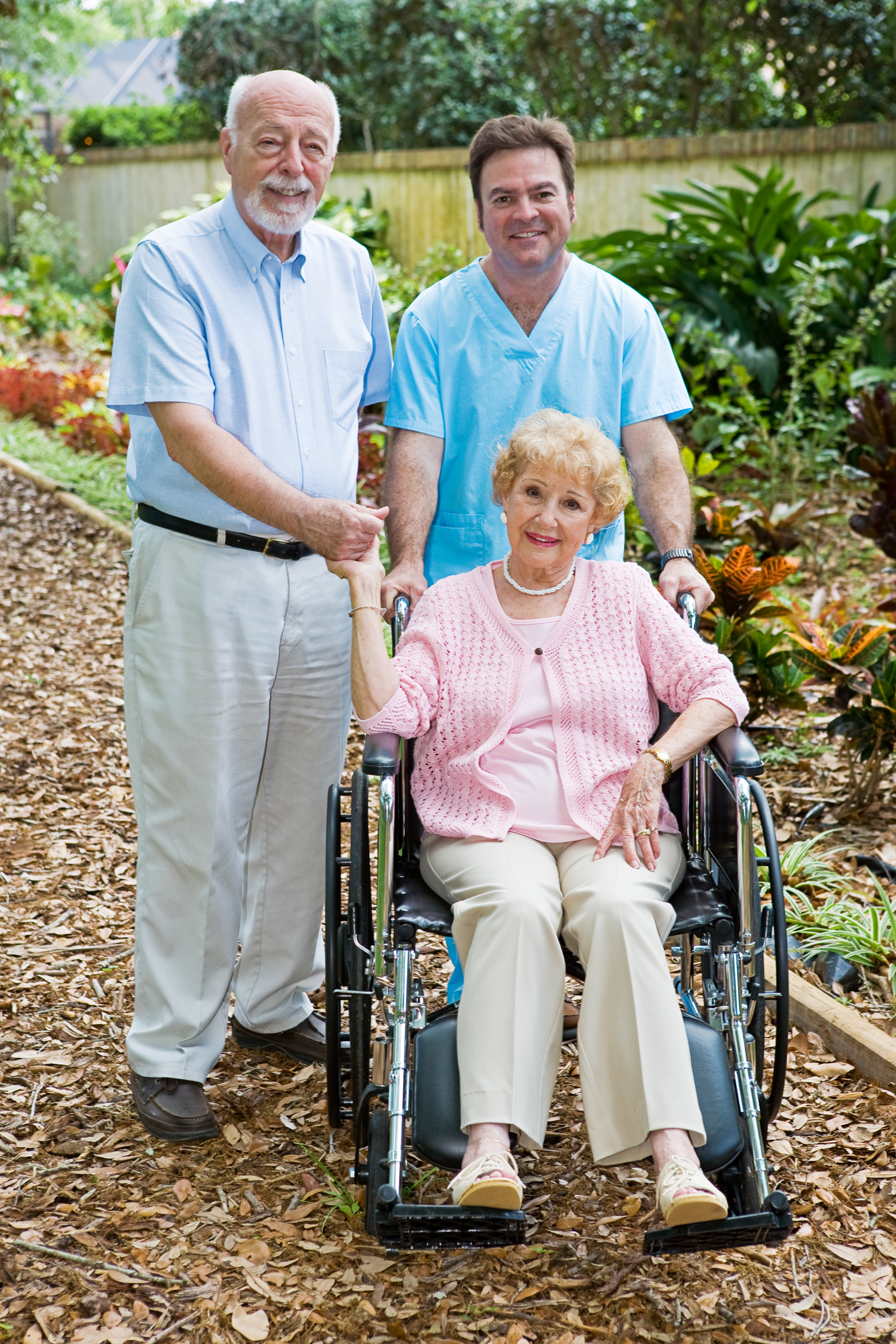 women in assisted living home