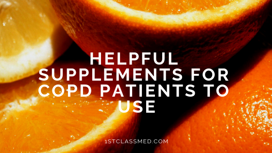 Helpful Supplements for COPD Patients to Use