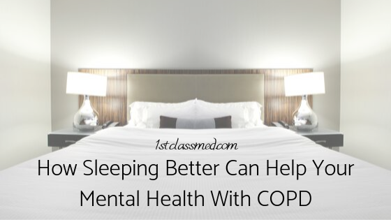 How Sleeping Better Can Help Your Mental Health with COPD