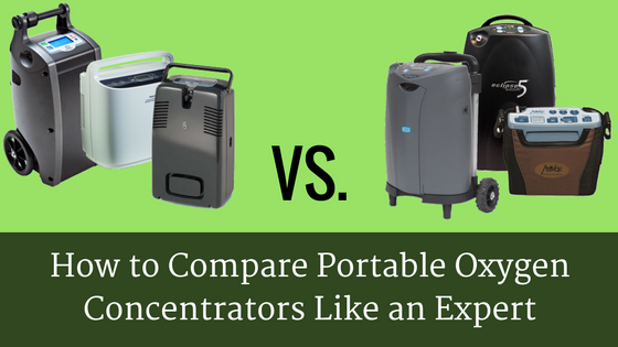 How to Compare Portable Oxygen Concentrators Like an Expert