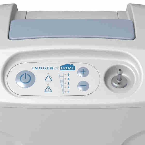 Inogen At Home Control Panel