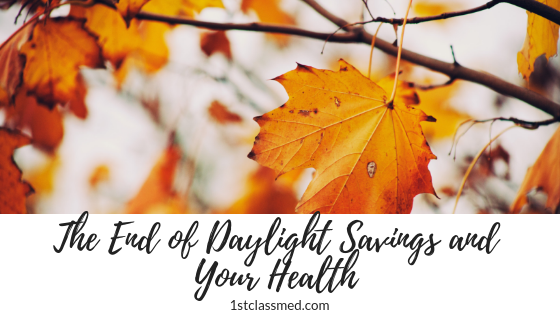 The End of Daylight Savings and Your Health