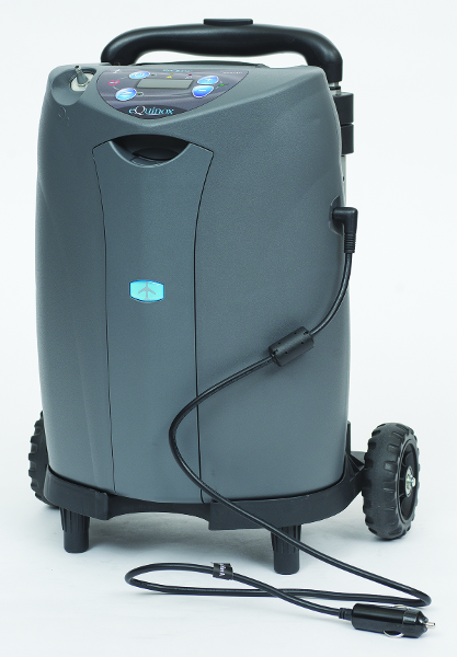 eQuinox on Cart w/ DC Power Supply