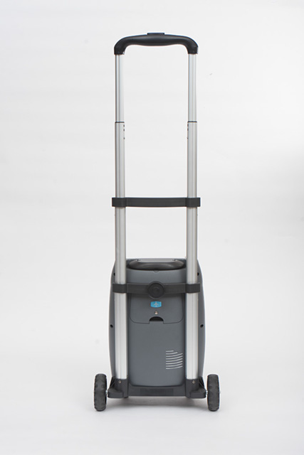 Backside of SeQual eQuinox on Travel Cart